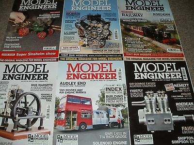 Model Engineer Magazines Vol 200 208 And 209