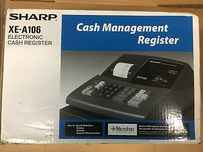 New In Box Casio Electronic Cash Management Register XE-A106