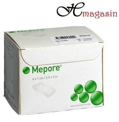 Mepore Self-Adhesive First Aid Dressing - 6 X 7 cm (60)