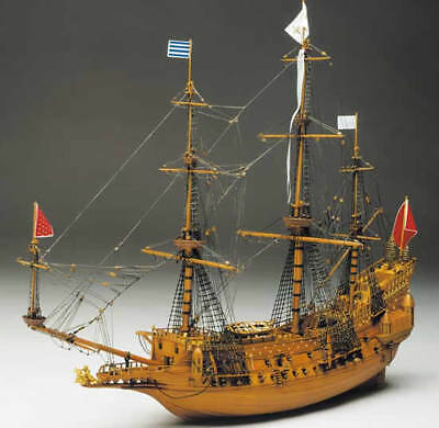 Mantua Models La Couronne Wooden Ship Kit 1:98 Scale Model