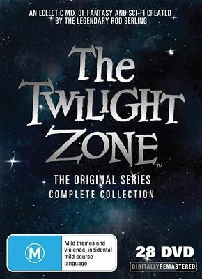 The Twilight Zone Original Series - Complete Season 1-5 NEW (28-Disc Set) DVD