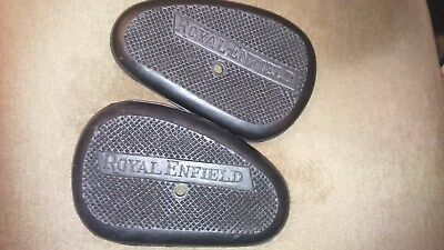 VINTAGE motorcycle royal enfield tank rubbers