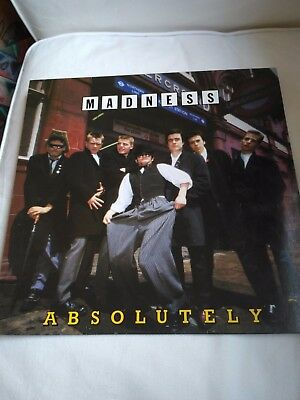 Madness - Absolutely LP RE 1985 Virgin vg+