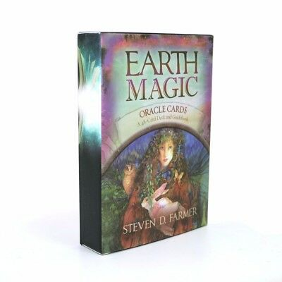 48 oracle cards English board game divination earth mati fortune fate like tarot