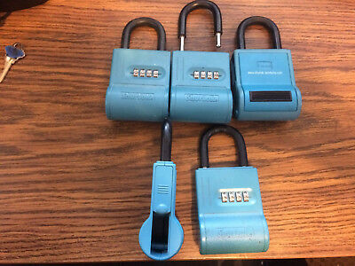 ~~5 Shurlok Key Storage Locks-- Lock Box Real Estate, Realtor Lockbox landlord~~