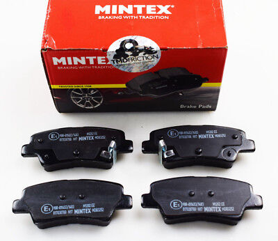 Brand New Mintex Rear Brake Pads Set Mdb3252 (Real Image Of The Parts)