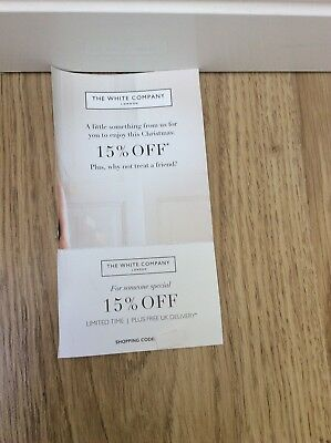 The White Company Voucher For 15% OFF + Free DELIVERY Discount