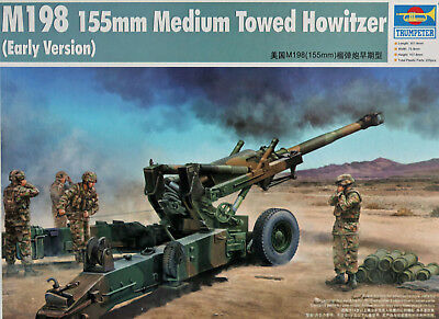 """TRUMPETER 02306 """"M198 155mm Medium Towed Howitzer (Early Version)"""" in 1:35"""