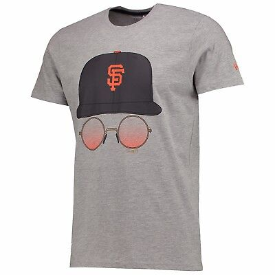 Adults Small San Francisco Giants New Era Cap and Glasses T-Shirt M15