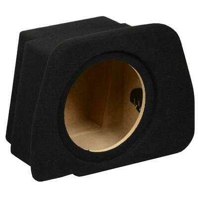 "Audi A4 B8 Sedan 07> Custom Fit MDF 10"" Rear Sub Box Subwoofer Enclosure Bass"