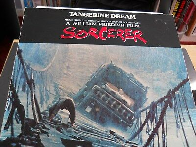 "Tangerine Dream SORCERER Film Soundtrack 12"" Vinyl LP 1977 mca  Records MCL 1646"