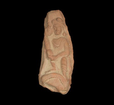 Indien 4./5. Jh. Fragment - An Earthenware Relief Fragment Gupta period, India