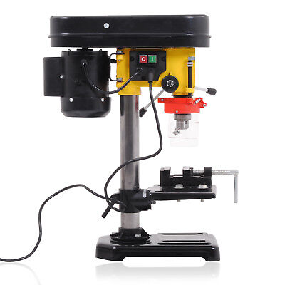 230v 350w 5 SPEED 13mm WORKSHOP PILLAR BENCH TABLE TOP MOUNTED VICE DRILL PRESS
