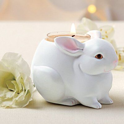 "PartyLite Nature's Love  ""BABY BUNNY"" Tealight Holder, NIB"