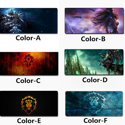 Large World of Warcraft WOW Laptop PC Gaming Mousepad Game Mouse Pad Mat