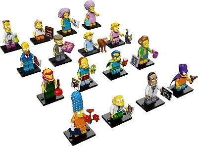 LEGO Minifigures The Simpsons Series 2 Set of 16 Figures 71009 New Complete