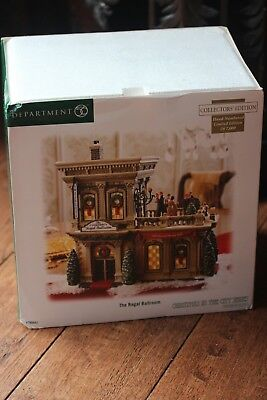 The Regal Ballroom, Department 56, Christmas In The City, Limited production