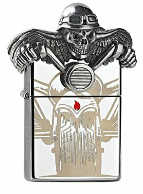 Zippo Ghost Rider della Limited Edition 2500 Pieces Chrome High Polished Special