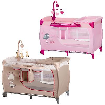 Hauck Baby Center Play Pen / Travel Cot