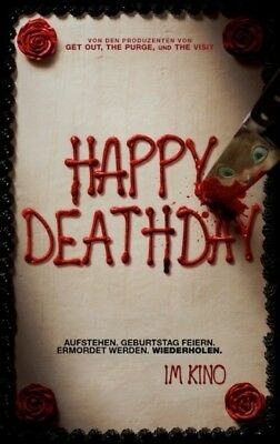 filmposter HAPPY DEATHDAY