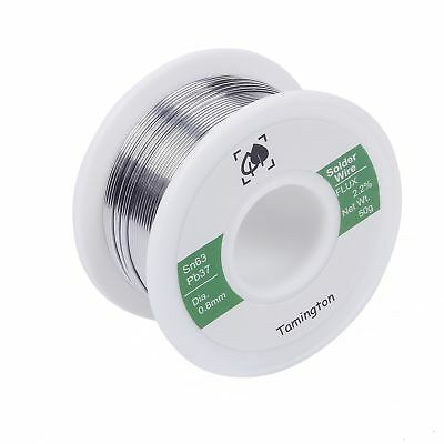 Solder Wire 50g Electrical Repair With Rosin Core Spool Lead Free Brazing Tool