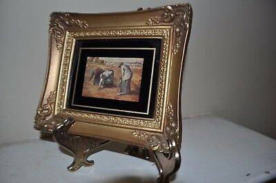 Vintage/Antique Ornate Small Picture Frame Made In U.S.A. #23 Print by Millet