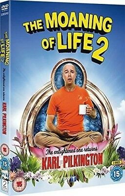 The Moaning of Life - Series 2 [DVD] [2015] Karl Pilkington New Sealed