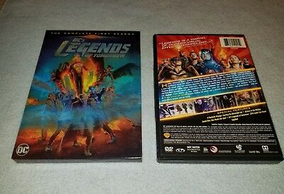 DCs Legends of Tomorrow: The Complete First Season (DVD, 2016, 4-Disc Set)