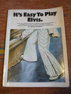 Songbuch. It´s easy to play Elvis. For Piano. Noten, Texte von Elvis Presley.