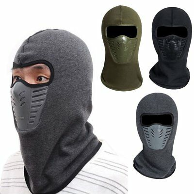 Full Face Mask Balaclava Ski Outdoor Winter Motorcycle Cycling Thermal Windproof