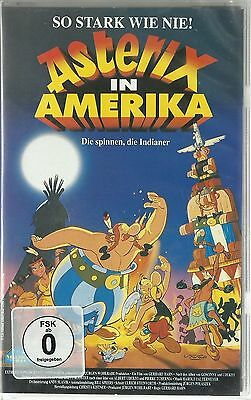 Asterix in Amerika / VHS Video