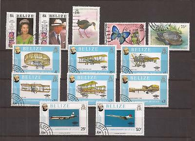 Belize  -  Lot Of Stamps