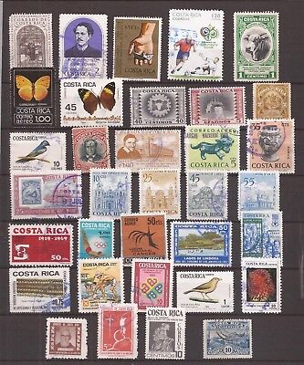 Costa Rica    -  Lot Of Stamps