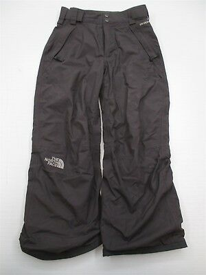 THE NORTH FACE #PA6383 Boys Size S Hyvent Waterproof Gray Snowboarding Ski Pants