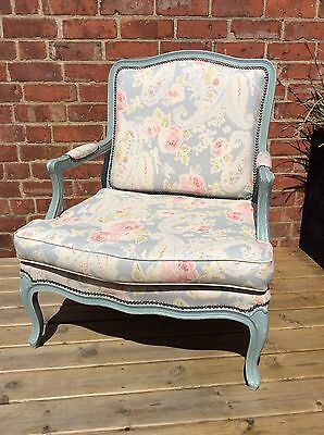 Pair Of Stunning Antique French Louis Style Lounge Chairs