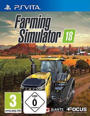 Playstation Vita PS Vita Landwirtschafts-Simulator 18 2018 NEU&OVP