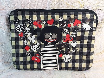 Miss Marc Laptop Bag Marc Jacobs Cartoon Girl Plaid Bag