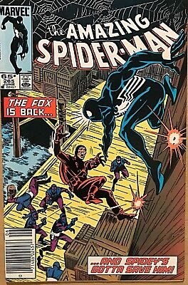 The Amazing Spider-Man #265 (Jun 1985, Marvel) Silver Sable