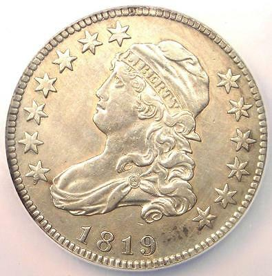 1819 Capped Bust Quarter 25C - NGC AU Details - Rare Early Date Coin in AU!