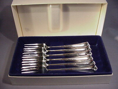 David Andersen Norway 830S Silver Oslo Designer set of 6 Forks