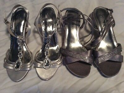 2 Pairs of bridal shoes for price of one!!Michael Angelo (7) and Metaphor (6.5)