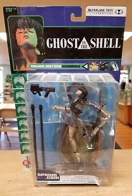 "McFarlane GHOST IN THE SHELL MAJOR MOTOKO KUSANAGI 6"" Figure - Factory Sealed"