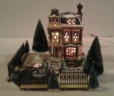 "Dept 56 Dickens Village 8 piece 3-D scene Gift Set ""CHANCERY CORNER"" #56.58352"