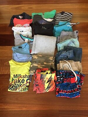 Bulk Pack Boys Clothes-Sizes 5/6 Years-Twenty Items In Pack