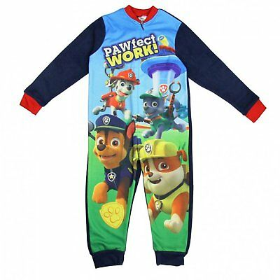 Boys Paw Patrol All in One Sleepsuit  - Official Licensed Merchandise