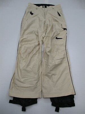 NIKE ACG #PA6445 Women's Size M All Conditions Gear Ivory Snowboarding Ski Pants