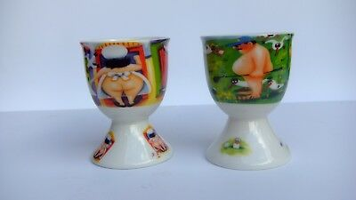 Maxwell & Williams - Egg Cups - Sue Janson - Room Service - 19Th Hole