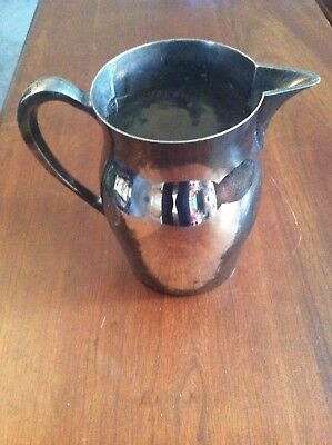 EPCA Poole nickel silver engraved pitcher 1968 NC Seniors Golf Morehead City