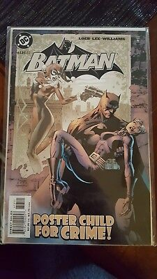 Batman #613 (May 2003, DC) Harley Quinn Jim Lee Hush Catwoman Sexy Key Issue