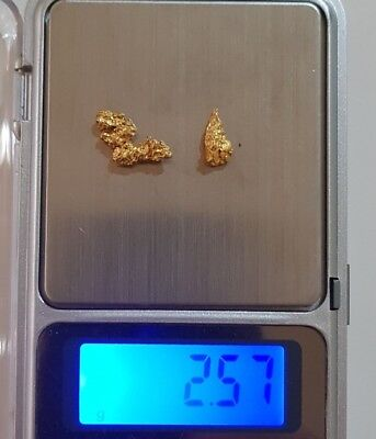 2.57g Gold Nuggets